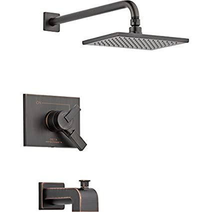 Vero Volume Control Tub And Shower Faucet Trim With Lever Handles