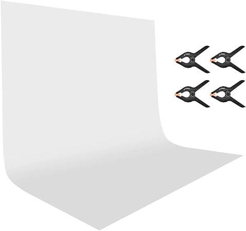 Utebit Fotografie Hintergrund Weiß 2x3m Kamera