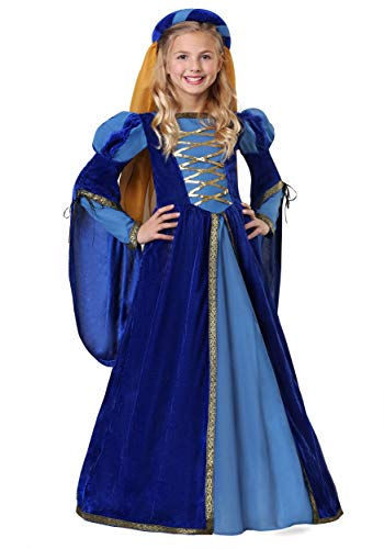 Girl's Renaissance Queen Costume Large