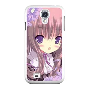 Exquisite image For Samsung Galaxy S4 9500 Cell Phone Case White lolita girl AMI4485886