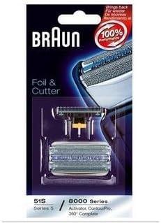 Paquete de rejilla y cuchilla para afeitadora Braun 8995 tipo 5646 ...