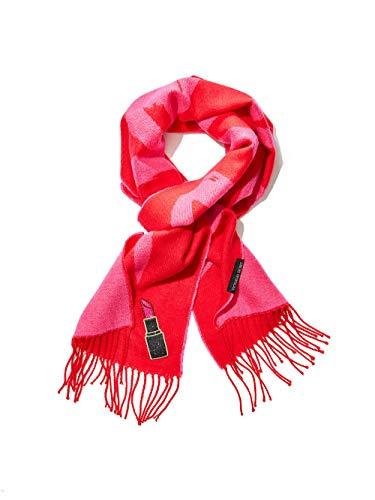 Victoria's Secret Winter Angel Lipstick Red Scarf