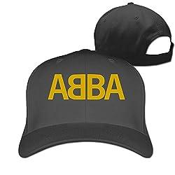 Tlk Funny Abba Band Logo Unisex Adult Trucker Cap Hats Black