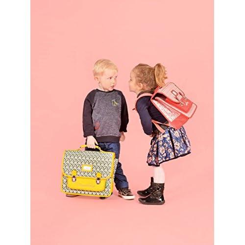 4ba7f2854be9d Cartable enfant 32cm Retro Caméléon - Idéal pour l'école maternelle - Existe  en 6