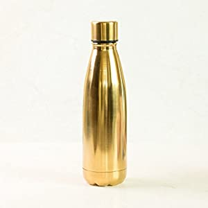 Ankit 17oz all gold BPA Free stainless steel water bottle steel water bottle smart water bottle cute water bottle water bottle bpa free stainless steel water bottle vacuum