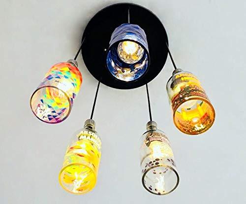 f2823c1f46b8 Amazon.com: LIMITED EDITION Industrial Light fixture - Chandelier ...
