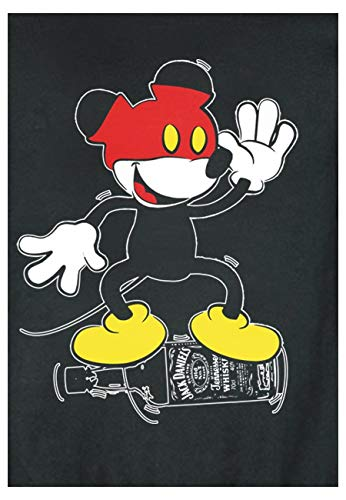 Magic Sweat Drunk Rond Col Swag Mickey Noir Custom 77zqrwFxB