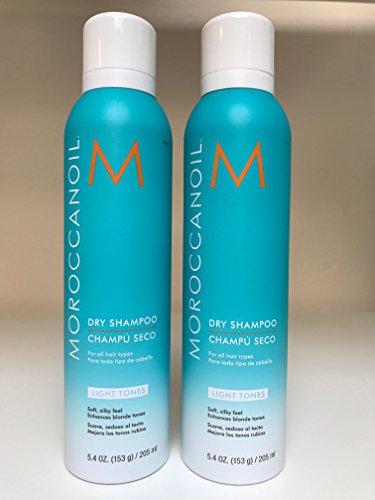 Moroccan Oil Dry Shampoo Light Tones 5.4 oz - Set of 2