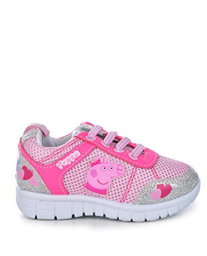 Pictures of Peppa Pig Kids Toddler Girls Silver and Pink 10 M US 3