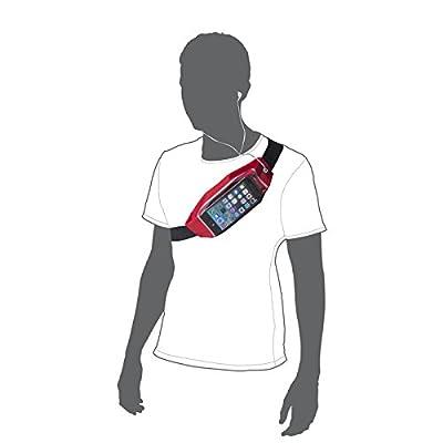 andyhandyshop Ventre de ceinture d'épaule de sac de course pour Alcatel POP C7