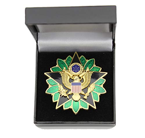 (US Army DOD General Staff Officer Rank Insignia Medal Badge ID Breast Badge)