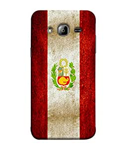 ColorKing Football Peru 01 Multi Color shell case cover for Samsung J3 2016