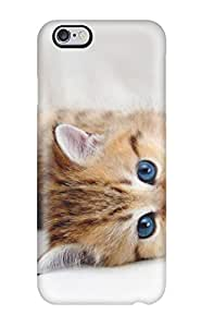 Durable Case For The Iphone 6 Plus- Eco-friendly Retail Packaging(blue Eyed Kitty)