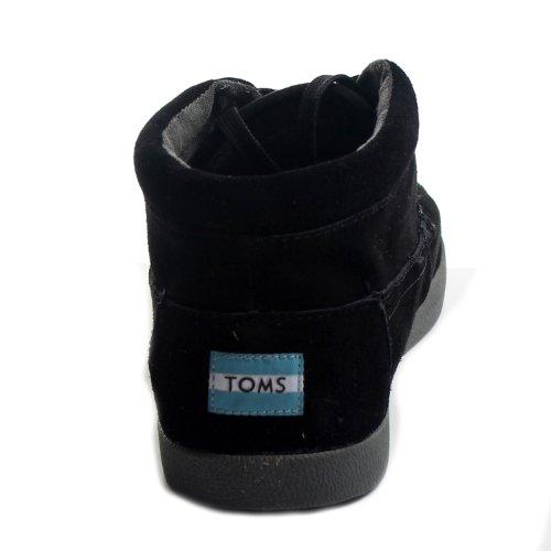 Toms - Scarpe Da Uomo Classiche In Pelle Scamosciata Nera