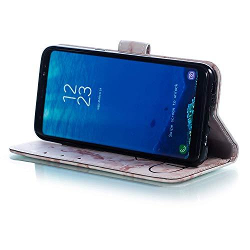 Plus Magnétique à en S8 Housse Coque Samsung D'amour Samsung Motif Marbre Plus Galaxy de Telephone Pochette S8 Galaxy Coque Rabat avec Etui Etui Housse Herbests S8 Plus de Violet Pr Galaxy Coque Samsung pour 6qFfwXBX