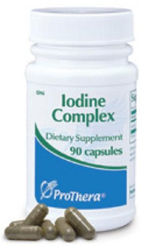 L'iode Prothera complexes 12,5 mg Complément alimentaire 90 capsules
