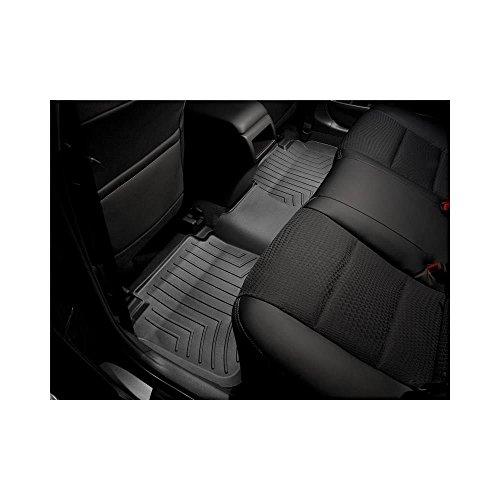 WeatherTech Custom Fit Rear FloorLiner for Select Jeep Wrangler Models, Black (Weathertech Jeep Wrangler)