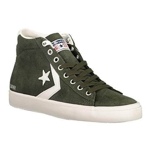 Scarpe Mid Basse 316 Multicolore Vulc Green Adulto Gray light Da Lifestyle Pro Leather utility Ginnastica Unisex Converse qwUpRX