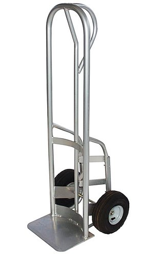 Milwaukee Hand Trucks 40950 P-Handle Keg Truck with 10-Inch Pneumatic Tires by Milwaukee