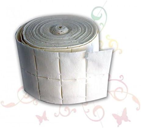 Rollo de almohadillas para las uñas – 100 unidades: Amazon.es: Belleza