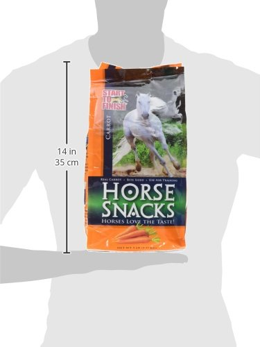 Manna Pro-Msc 38539 Carrot Start To Finish Horse Snack, 5 Lb