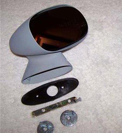 Chevelle Collectibles (OEM 70-72 Chevelle, Malibu, Monte Carlo Passenger side Sport Bullet Mirror. (Reconditioned) MirrorZone)