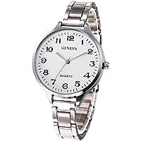 Becoler Women Girls Crystal Stainless Steel Analog Quartz Wrist Watch,Valentine's Day Gift