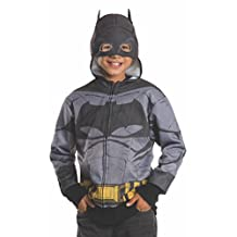 Rubies Costume Batman V Superman-Dawn of Justice Batman Child Hoodie, Large