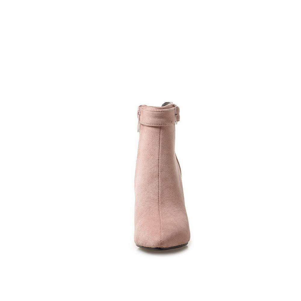 AN DKU02409 DKU02409 DKU02409 Damen Durchgängies Plateau Sandalen mit Keilabsatz Rosa - Rosa - Größe  EU 37 6a8784