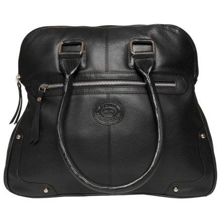 Premium Leather , Cabas pour femme noir noir Large