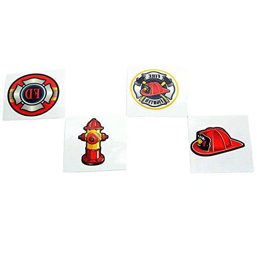 Fun Express Firefighter Tattoos ()