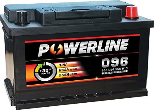 096 Powerline Car Battery 12V: