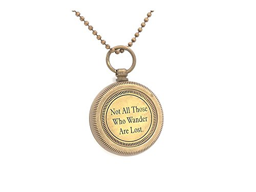 Necklace Compass Tolkien - Near And Tiffany Me Co