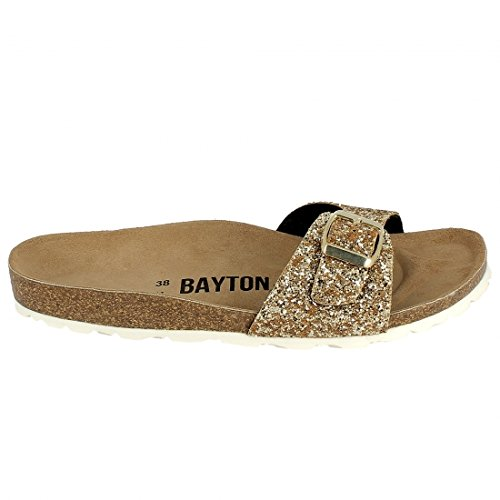 Bayton - Tongs / Sandales - Ba-10236 - Or