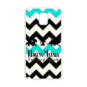 Hakuna Matata For Samsung Galaxy Note4 N9108 Csae protection phone Case FXU291156