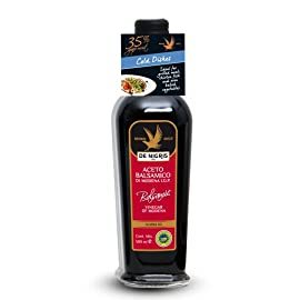 De Nigris Balsamic Vinegar Of Modena, White Eagle, 16.9 Ounce 1 6 - 16.9 oz bottles of De Nigris Balsamic Vinegar of Modena Bronze Eagle Velvety Intense and Balsamic Vinegar Creamy enrichment to give flavor to your kitchen, ideal for grilling meat, fish and vegetables in the oven
