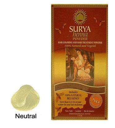 Surya Brasil Products Henna Powder, Neutral, 1.76 ()