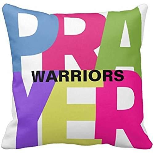 Oración guerreros funda de almohada: Amazon.es: Hogar