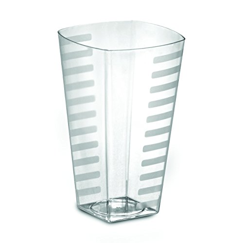 12oz Heavyweight Disposable Plastic Tumblers Crystal Clear Rock Tumblers, Squat Tumblers or Tall Tumblers 168 Glasses, Party Cups 12 ()