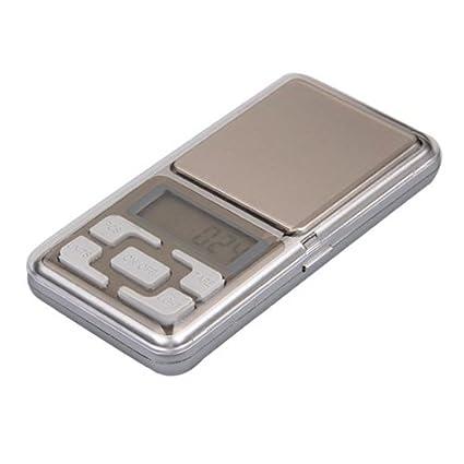 Mini Bascula Balanza Digital 0.01g a 100g LCD Eléctrónico Precisión
