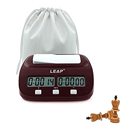 Professional Digital Chess Clock Count Up Down Timer with Clock And Game Timer with Bonus and Delay