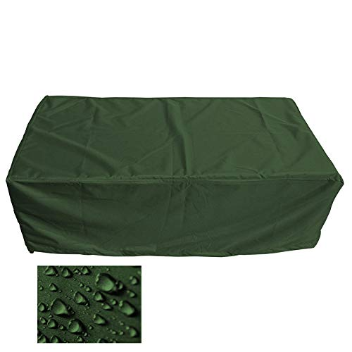 Premium Schutzhülle Gartenmöbel Abdeckung/Gartentisch Abdeckplane B 175cm x T 280cm x H 95cm Olivgrün