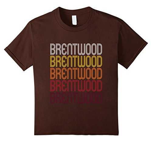 Kids Brentwood, CA | Vintage Style California T-shirt 8 - Brentwood Ca