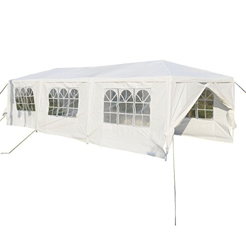 Giantex 10'x30'Heavy duty Gazebo Canopy Outdoor Party Wedding Tent