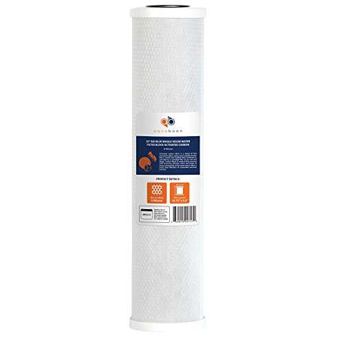 Whole House Activated Carbon Filter - Aquaboon C-20BB Big Blue Whole