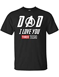efa276d25 Avengers End Game Shirt and Iron Man Shirt - Dad, I Love You 3000 T