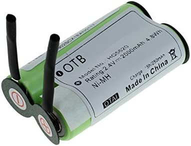 OTB batería acumulador para Philips Philishave HQ5620 / HQ5660 / HQ6720 / HQ6730 NiMH