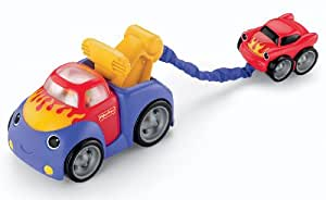 Fisher-Price Lil Zoomers Tug and Rumble Tow Truck