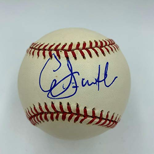 (Queen Latifah Signed Autographed 2004 World Series Baseball With JSA COA)