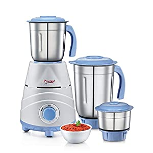 Prestige TEZ 550W Mixer Grinder with 3 Jars , Blue